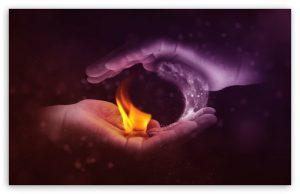 Cuando Agua y Fuego hacen el Amor dentro de ti, entonces acontece el éxtasis